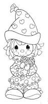 clown valentine u0027s printables coloring pages precious