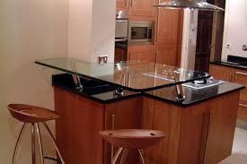 Glass Breakfast Bar Table Best Kitchen Glass Breakfast Bar Amazing Contemporary Kitchen