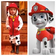 marshall from paw patrol halloween costume for little ones