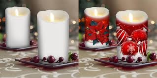 decorative wraps for luminara candles and flameless candles