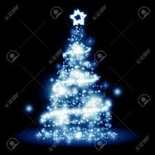 an image of a nice christmas tree lights background stock photo