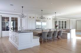 trend alert a kitchen island that u0027s also a breakfast nook