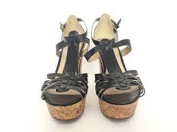 g by guess black platform sandals size 10 u2013 joyce u0027s closet