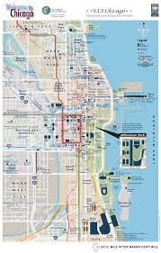 City Map Of Chicago by Map Of Chicago
