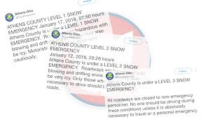 Ohio Where Should I Travel images Here 39 s what athens 39 level 1 level 2 and level 3 snow emergency png