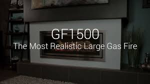 regency greenfire gf1500 gas fireplace youtube