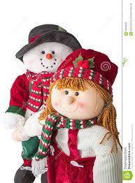 snowman couple christmas joy isolated stock photo image 63804638