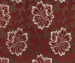 Red Drapery Fabric Maroon Floral Ja Fabric By The Yard Curtain Fabric Upholstery