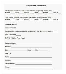 shirt order form template eliolera com