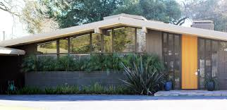 entrancing open wide glass exterior landscaping as mid century