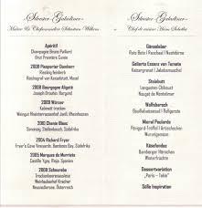 Das Esszimmer Celle Niedersachsen Speisekartensammlung