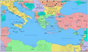 eastern map radio prefix map of eastern mediterranean
