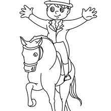 horse coloring pages hellokids