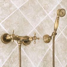 Shower Faucet Handles Only Unique Vintage Brass Tub And Shower Faucet Hand Shower Only