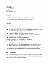Dental Assistant Resume Templates Ultimate Resume Examples For Dental Assistant About Dental