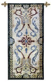 plain decoration celtic tapestry wall hangings astounding design
