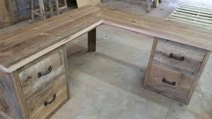 Rustic Wood Desk Rustic L Shaped Desk Best Home Furniture Decoration