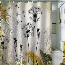Unique Fabric Shower Curtains Top Shower Curtains Shower Curtain