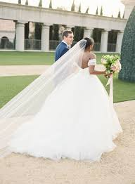 latest off shoulder tulle ball gown wedding dress elegant ruffles