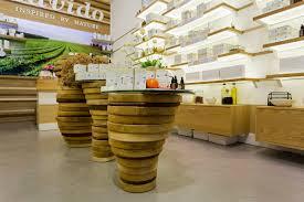 Nature Concept In Interior Design Lavido Natural Cosmetics Store Interior Design Galia Design