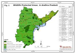 South India Map by Maps Of Protected Areas In India