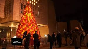 valletta christmas tree switched on