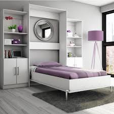 marvelous wall mount lcd and white couch feat pull down bed also