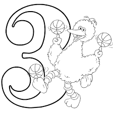 sesame street coloring pages sesame street coloring pages number 3