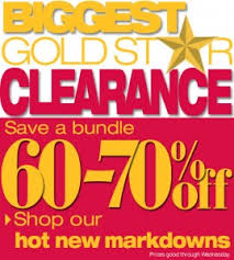 kohl s blowout sale up to 70