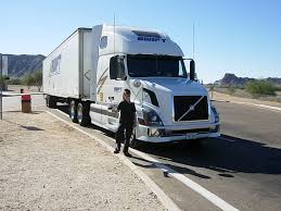 truck volvo usa volvo truck of swift transportation near yuma az a photo on