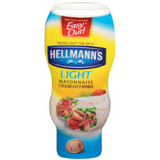 hellmans light mayo nutrition hellmann s light mayonnaise 16 5 oz squeeze bottle food grocery