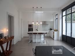 cuisine moderne blanc laqué beautiful cuisine moderne blanc laque 4 la cuisine veranda
