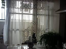 kitchen window curtains stainless steel kitchen curtain rods ebony