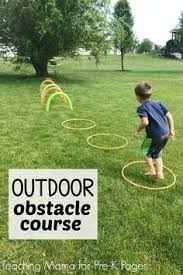 Backyard Obstacle Course Ideas A Backyard Obstacle Course For Your Kids Stay Active Obstacle