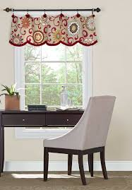 livingroom valances amazonsmile simplicity creative patterns 1383 valances for 36