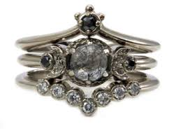 Crown Wedding Rings by Nesting Wedding Band Etsy