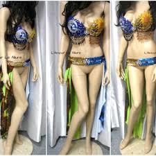 Moon Goddess Fairy Monokini Bra Cosplay Dance Costume Rave Bra by Sun Moon Galaxy L U0027amour Le Allure Online Store Powered By Storenvy