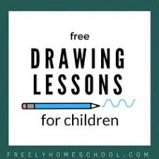 anyone can sketch free sketching lessons for kids details at