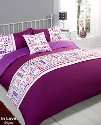 duvet cover with pillow case quilt bedding set bed in a bag double