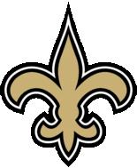 is the saints inspired casket s fleur de lis similar to the