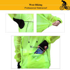 road cycling waterproof jacket amazon com west biking rainproof cycling rain coat men bike rain