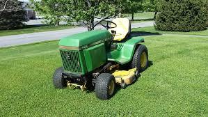 deere 420 garden tractor with 50 mower deck tractor and