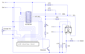 On Off Timer Circuit Diagram Pcb Exposure Timer With Picaxe Microcontroller And Lcd Display