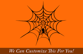 wall halloween decorations spider web with spider for halloween a wall decor vinyl decal