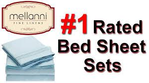 mellanni bed sheets queen size queen bed sheets set a quick