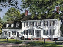 colonial home georgian home plans at eplans colonial house plans and