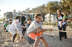 celebrating the 5th anniversary of the annenberg community beach
