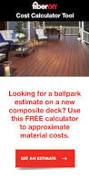 Hardwood Floor Calculator Best 25 Deck Cost Calculator Ideas On Pinterest Deck Calculator
