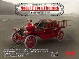 Old Ford Truck Kit Car - icm 1914 ford model t firetruck truck kit news u0026 reviews model