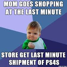 Bad Father Meme - to the people who say last minute shoppers are bad parents meme guy